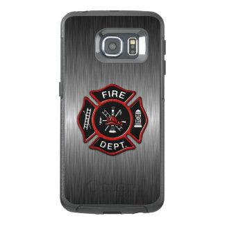 消防士の紋章の赤 オッターボックスSamsung GALAXY S6 EDGEケース
