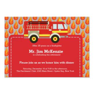 消防士の退職 カード