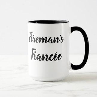 消防士のFiancéeのマグ マグカップ