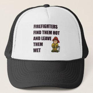 消防士はそれらを熱い見つけます キャップ