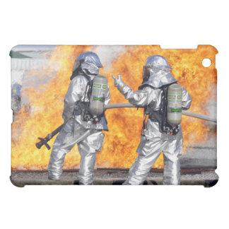 消防士は模倣された火を戦います iPad MINI CASE
