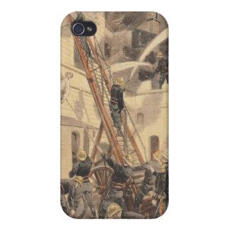 消防士を持つFelix Faure iPhone 4/4Sケース