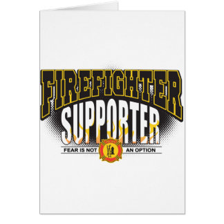 消防士サポータ カード