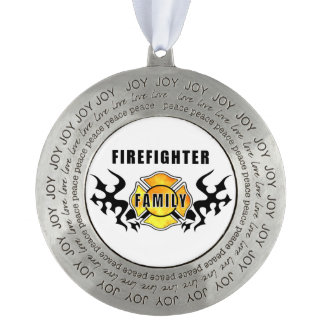 消防士家族 オーナメント