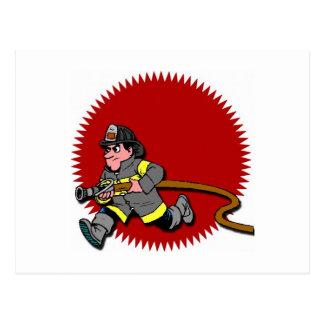 消防士 ポストカード