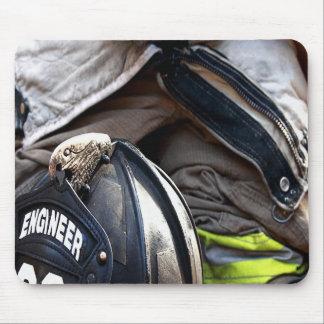 消防士 マウスパッド