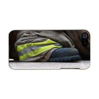 消防士 メタリックiPhone SE/5/5sケース
