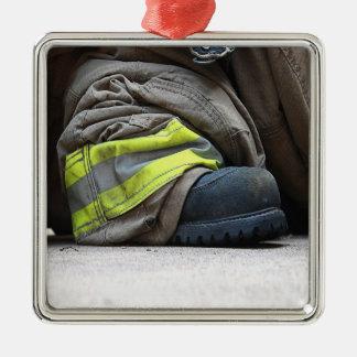 消防士 メタルオーナメント
