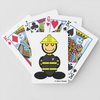 消防士(明白な) バイスクルトランプ