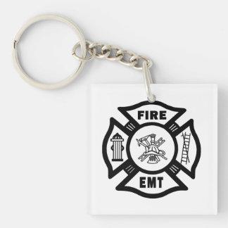 消防士EMT キーホルダー