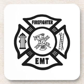消防士EMT コースター