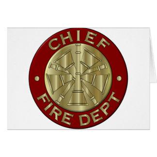 消防所長カード… カード