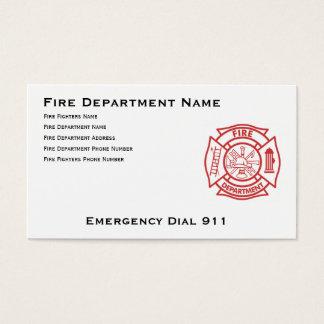 消防署のマルタ十字 名刺