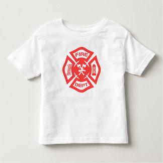 消防署 トドラーTシャツ