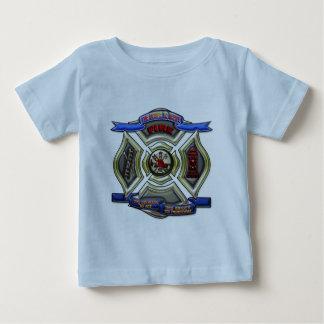 消防署Chrest ベビーTシャツ