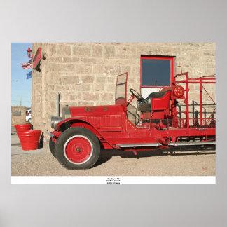 消防車#3、Goldfield、ネバダ ポスター