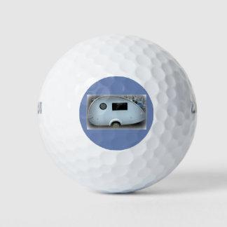 涙のジプシーのキャラバンの幸せなglamping ゴルフボール