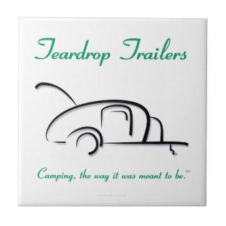 涙のトレーラーの緑版 タイル