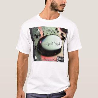 液体のこぼれcover1 tシャツ