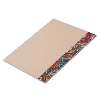 液体のサイファイの抽象芸術 ノートパッド