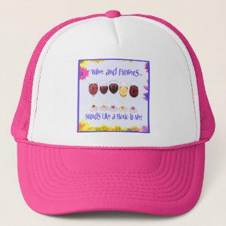 液体のピクニック帽子 キャップ