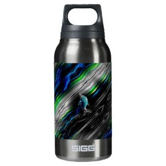 液体の振動イルカのネオン熱のボトル 断熱ウォーターボトル