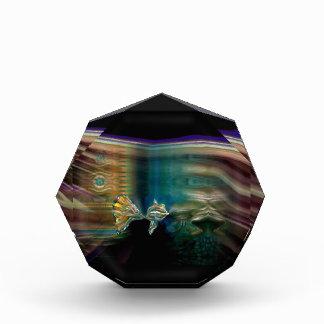 液体の振動ファンキーな魚賞 表彰盾
