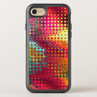 液体の点のクールでカラフルな虹 オッターボックスシンメトリーiPhone 8/7 ケース