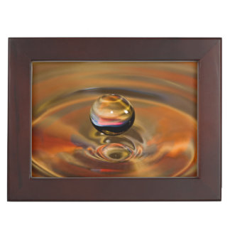 液体の球体 ジュエリーボックス