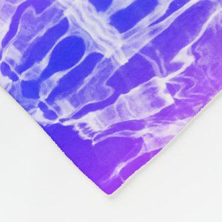 液体の虹のフリースブランケット フリースブランケット