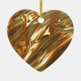 液体の金ゴールド セラミックオーナメント