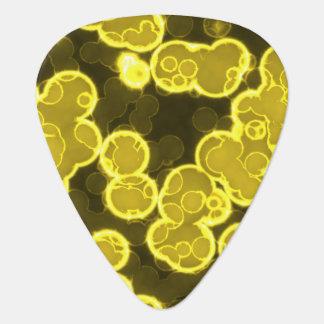 液体黄色 ギターピック