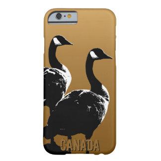 涼しいカナダのiPhone6ケースのカナダのガチョウの例 Barely There iPhone 6 ケース