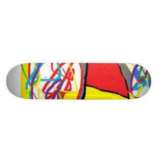 涼しいスケートボード 21.6CM オールドスクールスケートボードデッキ