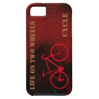 涼しいバイク。 車輪 iPhone SE/5/5s ケース