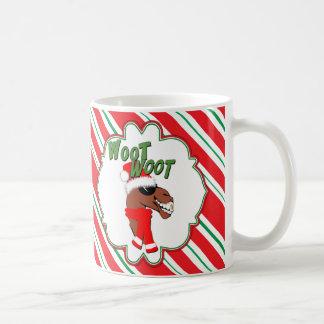 涼しいラクダのWoot Wootのこぶ日のクリスマスのマグ コーヒーマグカップ
