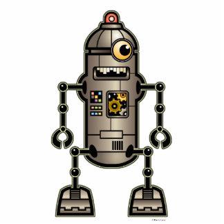 涼しいロボットサラソウジュの彫刻 フォトスカルプチャー