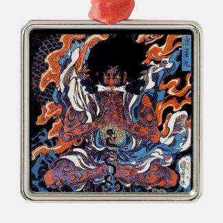 涼しい東洋の日本の伝説のSaninの戦士の芸術 メタルオーナメント