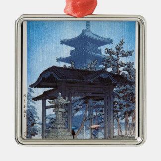 涼しい東洋の日本人のKawaseの神社の入口の芸術 メタルオーナメント