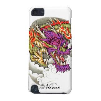 涼しい東洋の紫色のドラゴンの入れ墨 iPod TOUCH 5G ケース