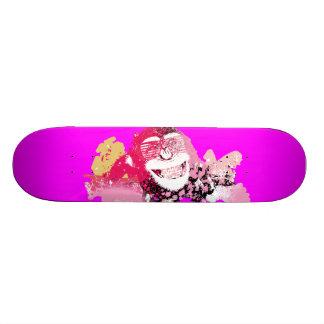 涼しい猿の落書きの通りの芸術のスケートボード スケートボード