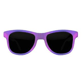 涼しい紫色のピンクの抽象芸術 サングラス