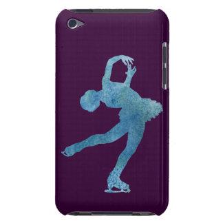 涼しく青いフィギュアスケート選手 Case-Mate iPod TOUCH ケース