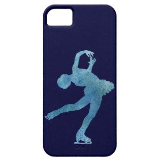涼しく青いフィギュアスケート選手 iPhone SE/5/5s ケース