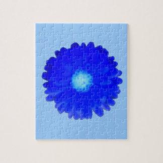 涼しく青いマリーゴールドのパズル ジグソーパズル