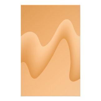 淡いオレンジ色の抽象的なイメージの設計 チラシ