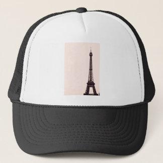 淡いピンクのエッフェル塔 キャップ