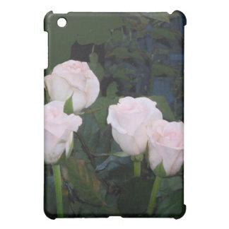 淡いピンクのバラ iPad MINIケース