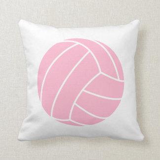 淡いピンクのバレーボール クッション