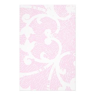 淡いピンクのモザイク 便箋